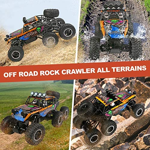 61inDvvFr L. AC  - Remote Control Car for Boys - RC Trucks Off Road Car for Kids - Large 1:12 Scale RC Monster Car High Speed 6WD All Terrain Controlled Vehicle Crawler - RC Drift Cars Toys - Gifts for Kids/Boys Girls