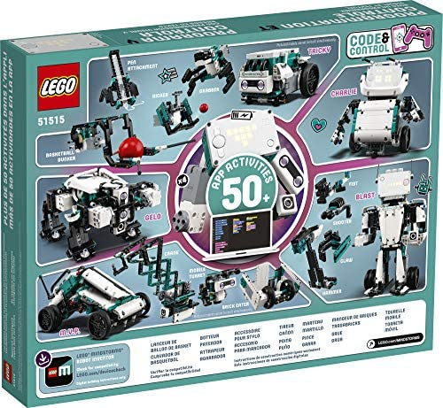 61ogGS stJL. AC  - LEGO MINDSTORMS Robot Inventor Building Set 51515; STEM Model Robot Toy for Creative Kids with Remote Control Model Robots; Inspiring Code and Control Edutainment Fun, New 2020 (949 Pieces)