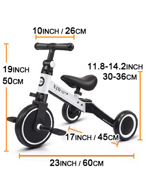 6c90455d 80bb 4a28 b587 0256004b56a8.  CR0,0,300,400 PT0 SX300 V1    - XJD 3 in 1 Kids Tricycles for 10 Month-3 Years Old Kids Trike 3 Wheel Toddler Bike Boys Girls Trikes for Toddler Tricycles Baby Bike Trike Upgrade 2.0