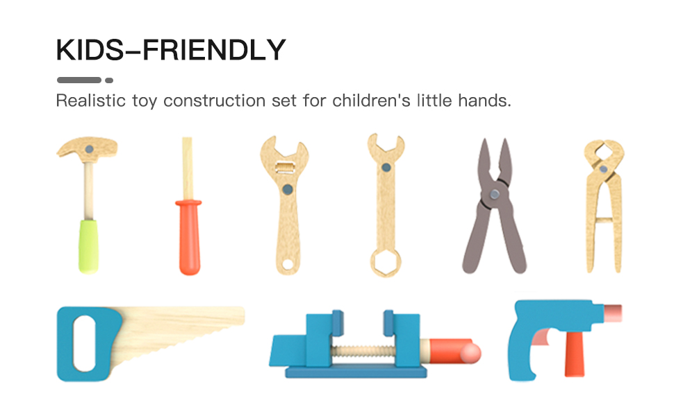 6cf99386 557c 47be af21 b11ffd29ce11.  CR0,0,970,600 PT0 SX970 V1    - ROBUD Large Wooden Play Tool Workbench Set for Kids Toddlers, Construction Workshop Tool Bench Toys Gift