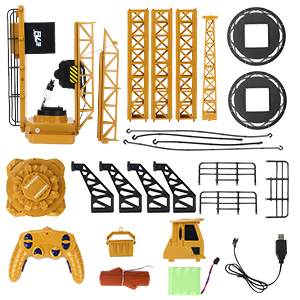 7328c325 d2ba 444d 8b70 940de32e1912.  CR0,0,300,300 PT0 SX300 V1    - Mini Tudou RC Crane Toy,50.4 inch Tall 2.4GHz Remote Control Robotic Excavator,Educational Construction Vehicles Toy for Ages 6,7,8,9 Boys or Girls