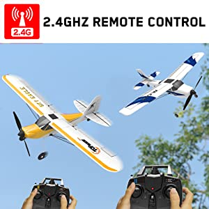 7eb1a74f aa6d 4ac1 a0be 36e89595fc92.  CR0,0,1000,1000 PT0 SX300 V1    - Top Race Rc Plane 3 Channel Remote Control Airplane Ready to Fly Rc Planes for Adults, Easy & Ready to Fly, Great Gift Toy for Adults or Advanced Kids, Upgraded with Propeller Saver (TR-C285G)