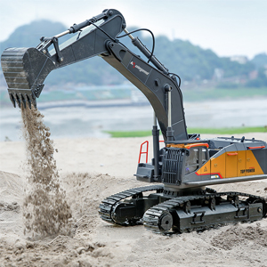 8b496f63 79a0 4014 82c9 50fbd0f38f30.  CR0,0,300,300 PT0 SX300 V1    - kolegend Remote Control Excavator Toy 1/14 Scale RC Excavator, 22 Channel Upgrade Full Functional Construction Vehicles Rechargeable RC Truck with Metal Shovel and Lights Sounds
