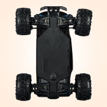 8e3174c3 6246 458d 886d 1b62ff173d77.  CR0,0,220,220 PT0 SX220 V1    - Remote Control Car,1:18 Scale RC Racing High Speed Car,4WD All Terrains Waterproof Drift Off-Road Vehicle,2.4GHz RC Road Monster Truck Included 2 Rechargeable Batteries,Toy for Boys Teens Adults