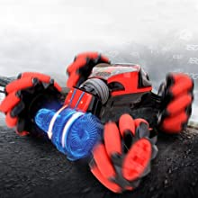 9956a65c aa97 41ff afc9 dc929ae6ce80.  CR0,0,1000,1000 PT0 SX220 V1    - GoolRC RC Stunt Car, 4WD 2.4GHz Remote Control Car, Deformable All-Terrain Off Road Car, 360 Degree Flips Double Sided Rotating Race Car with Gesture Sensor Watch Lights Music for Kids (Blue)