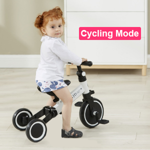 a42721cf 59e8 4890 b8a8 5664f0d93000.  CR0,0,300,300 PT0 SX300 V1    - XJD 3 in 1 Kids Tricycles for 10 Month-3 Years Old Kids Trike 3 Wheel Toddler Bike Boys Girls Trikes for Toddler Tricycles Baby Bike Trike Upgrade 2.0