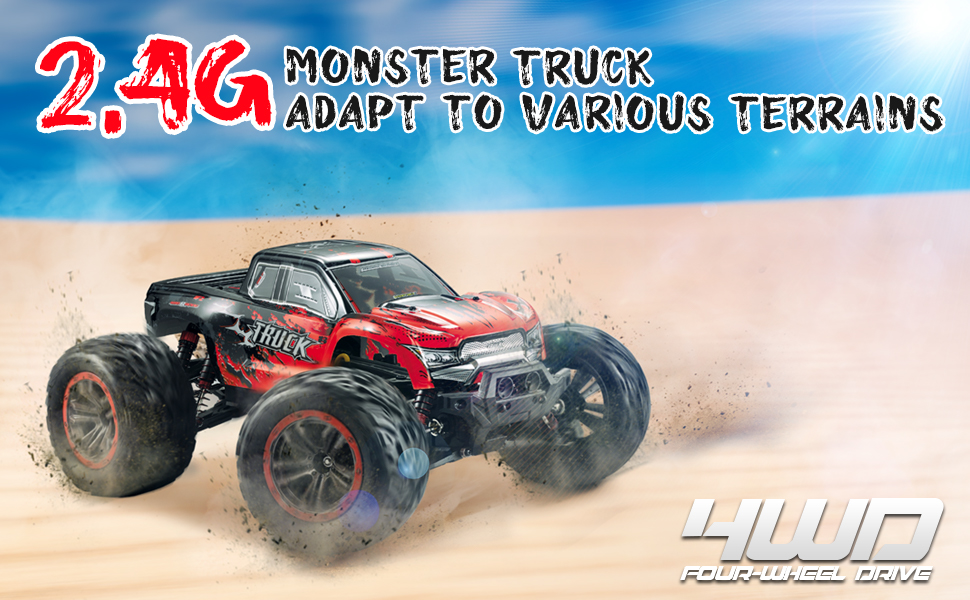 a9cd665c b1ae 4f0b 82a7 cca4e83e074e.  CR0,0,970,600 PT0 SX970 V1    - Hosim 1:12 Scale 46+ kmh High Speed RC Cars - Boys Remote Control Cars 4WD 2.4GHz Off Road RC Monster Trucks for Adults Kids.Electric Power Radio Control Cars Gift for Children (Red)