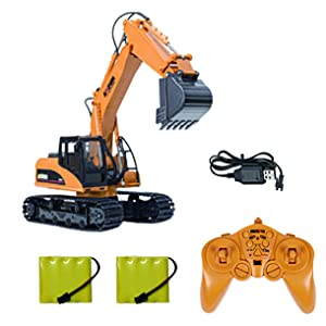 b74f9cd7 7863 49c7 93fd 5c8ddac1e6c7.  CR0,0,305,305 PT0 SX300 V1    - TEMA1985 Remote Control Excavator Toys with Metal Shovel 15 Channel Full Functional RC Construction Vehicles with Lights & Sound 2.4Ghz RC Excavator Toys for Boys