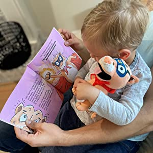 b932b8bd 7834 4f61 9823 877ea87b7d69.  CR0,0,960,960 PT0 SX300 V1    - Belly Rubbins for Bubbins Storybook & Plush Toy Set - 2 Children's Picture Books, Coloring Book with Crayons, Pit Bull Plushie, Storage Bag - Stories About Rescue Dog Adoption - Gifts for Kids Ages 3+