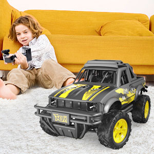 c5313ea2 4d56 42f9 8c89 c9917dc0d934.  CR0,0,300,300 PT0 SX300 V1    - Remote Control Jeep Dodoeleph 4X4 1:16 Large Off-Road Monster RC Trucks, 70Min Play 2.4GHz All Terrain Rock Cralwer with LED Light, High Speed Electric Vehicle Car Toy for Boys Kids