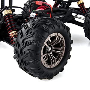 f2018842 0d87 4ba5 b11a fd5e7b4d5c51.  CR0,0,3000,3000 PT0 SX300 V1    - BEZGAR 6 Hobbyist Grade 1:16 Scale Remote Control Truck, 4WD High Speed 40+ Kmh All Terrains Electric Toy Off Road RC Monster Vehicle Car Crawler with 2 Rechargeable Batteries for Boys Kids and Adults