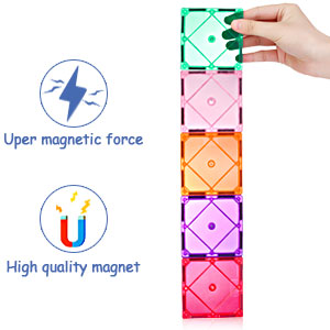 0188ed78 c22b 49c7 914f 2833e26c6bc2.  CR0,0,300,300 PT0 SX300 V1    - VATENIC 120PCS Kids Magnetic Tiles Building Blocks 2 Car Set Color Magnetic Blocks Toys for Kids Children,Educational Learning Building Toys Birthday Gifts for Boys Girls Age 3 4 5 6 7 8 9 10 Year Old