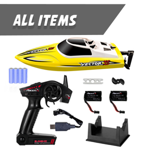 261891b1 72b0 4920 ad16 822def964eeb.  CR0,0,300,300 PT0 SX300 V1    - YEZI Remote Control Boat for Pools & Lakes,Udi001 Venom Fast RC Boat for Kids & Adults,Self Righting Remote Controlled Boat W/Extra Battery (Yellow)