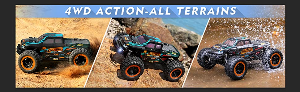 2ab82c5a 9e42 4b58 96d7 cfa330ade675.  CR0,49,1079,334 PT0 SX970 V1    - HAIBOXING 1:16 Scale RC Cars 16889, 36Km/h high Speed Hobby Remote Control Car with 2.4GHz Radio Controller, All Terrain Waterproof Off-Road RC Trucks with 2 Batteries for Kids and Adults