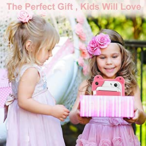 2b8a6cd4 e2b7 4f9e 9c88 72723a7a8fde.  CR0,0,600,600 PT0 SX300 V1    - PROGRACE Kids Print Camera Instant Print Camera for Kids Travel Learning Birthday Gift Portable Digital Creative Print Camera for Girls Zero Ink Kids Camera Toy Toddler Camera with Print Paper(Pink)