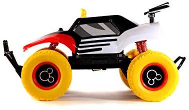 31HpIuFuM2L. AC  - Disney Junior 1:14 Mickey Buggy RC Remote Control Car 2.4GHz, toys for kids and adults