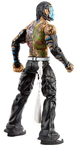 410lT6tD6xL. AC  - WWE Jeff Hardy Elite Collection Action Figure, 6-in/15.24-cm Posable Collectible Gift for WWE Fans Ages 8 Years Old & Up