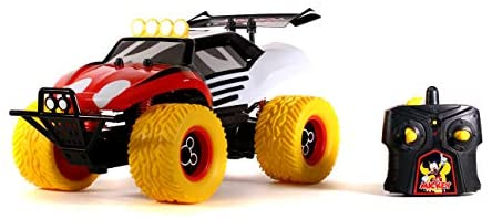 412yGFwPm0L. AC  - Disney Junior 1:14 Mickey Buggy RC Remote Control Car 2.4GHz, toys for kids and adults