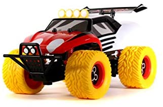 414rkLdifIL. AC  - Disney Junior 1:14 Mickey Buggy RC Remote Control Car 2.4GHz, toys for kids and adults