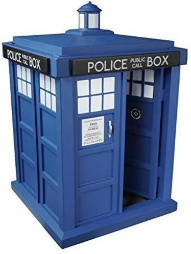 416E3Y+FSmL. AC  - Funko 5286 POP TV: Doctor Who Tardis 6-Inches Action Figure