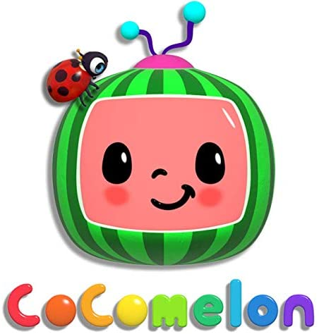 """4176c3HE3KL. AC  - CoComelon JJ and Melon Plush Stuffed Animal Toys, 2 Pack - 8"""" Plush - for Ages 18 Months and up"""