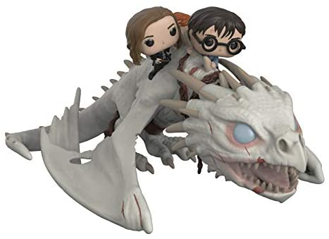 418OGGHB0bL. AC  - Funko Pop! Rides: Harry Potter - Gringotts Dragon with Harry, Ron, and Hermione, Vinyl Figure
