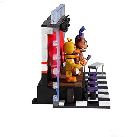 418gm04tcqL. AC  - McFarlane Toys Five Nights at Freddy's Deluxe Concert Stage Large Construction Set