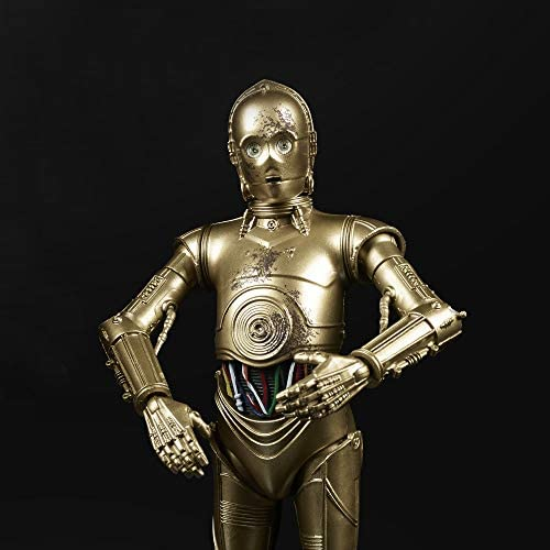 """41BspOsPJqL. AC  - Star Wars The Black Series Chewbacca & C-3PO Toys 6"""" Scale The Empire Strikes Back Collectible Figures (Amazon Exclusive)"""
