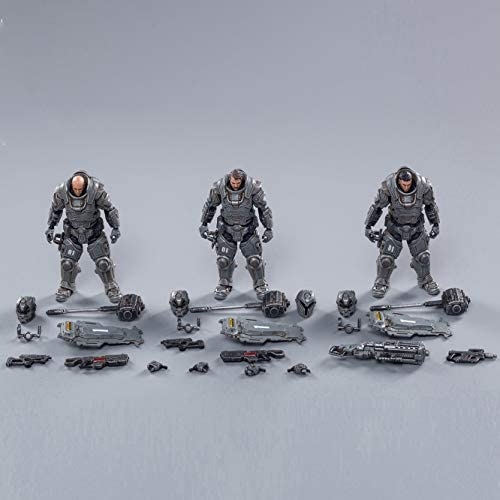 41Ezj5A48JL. AC  - JoyToy 1/18 Action Figures 4-Inch Interstellar Trooper Hammer of Steel Soldier Figure PVC Military Model Collection Toys