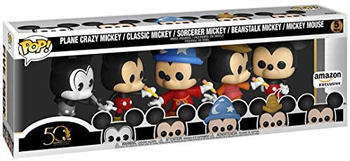 41JEjX8+dgL. AC  - Funko Pop! Disney Archives - Mickey Mouse 5 Pack, Amazon Exclusive