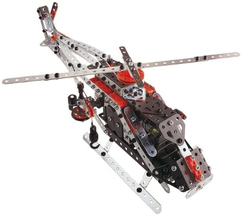 41KXYUU h2L. AC  - Erector by Meccano Super Construction 25-In-1 Motorized Building Set, Steam Education Toy, 638 Parts, For Ages 10+