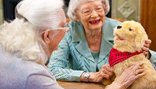 41M8IPZntBL. AC  - JOY FOR ALL Ageless Innovation Companion Pets Golden Pup Lifelike & Realistic