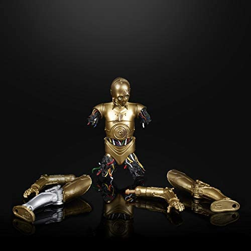 """41MXqEFU9RL. AC  - Star Wars The Black Series Chewbacca & C-3PO Toys 6"""" Scale The Empire Strikes Back Collectible Figures (Amazon Exclusive)"""