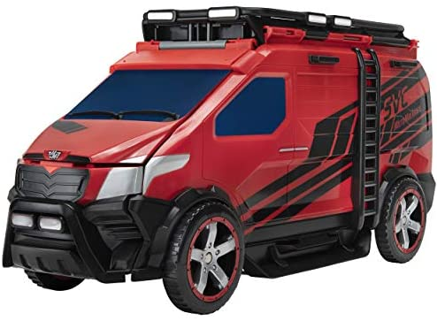 41Miz5 DFdL. AC  - Micro Machines Super Van City Playset - Includes 12 MM Vehicles, Working Bridge, Construction Site, High Rise Building, Drag Strip, Ramps - Collect Them All - Amazon Exclusive