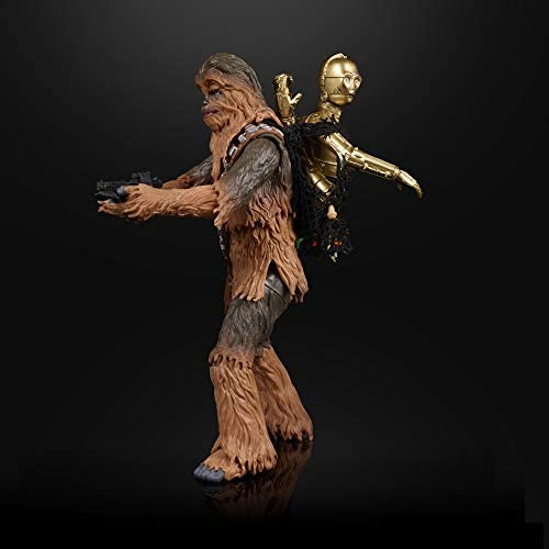 """41NQMRoTG4L. AC  - Star Wars The Black Series Chewbacca & C-3PO Toys 6"""" Scale The Empire Strikes Back Collectible Figures (Amazon Exclusive)"""