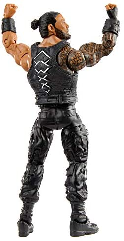 41VQp5kjqZL. AC  - WWE Roman Reigns Elite Collection Action Figure, 6-in/15.24-cm Posable Collectible Gift for WWE Fans Ages 8 Years Old & Up