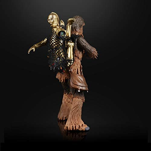 """41VrpmDWbWL. AC  - Star Wars The Black Series Chewbacca & C-3PO Toys 6"""" Scale The Empire Strikes Back Collectible Figures (Amazon Exclusive)"""