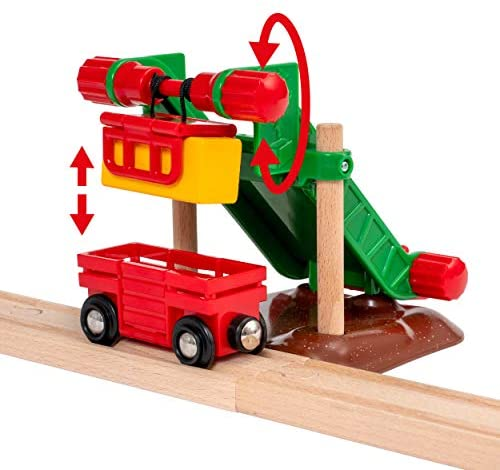 41XB1t5zgvL. AC  - Brio 33984 Animal Farm Set   Wooden Toy Train Set for Kids Age 3 and Up
