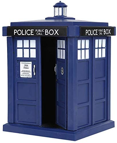 41bLGs2  sL. AC  - Funko 5286 POP TV: Doctor Who Tardis 6-Inches Action Figure