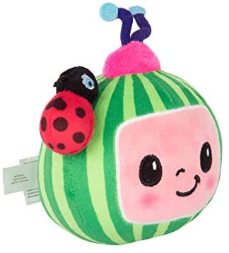 """41cE+hOCjXL. AC  - CoComelon JJ and Melon Plush Stuffed Animal Toys, 2 Pack - 8"""" Plush - for Ages 18 Months and up"""