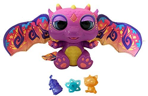 41f+iD3LqWL. AC  - furReal Moodwings Baby Dragon Interactive Pet Toy, 50+ Sounds & Reactions, Ages 4 and Up