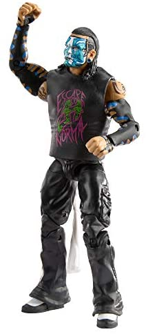 41hs4F8Y0jL. AC  - WWE Jeff Hardy Elite Collection Action Figure, 6-in/15.24-cm Posable Collectible Gift for WWE Fans Ages 8 Years Old & Up