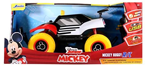 41lcU5AN80L. AC  - Disney Junior 1:14 Mickey Buggy RC Remote Control Car 2.4GHz, toys for kids and adults