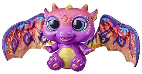 41rH7Klx2nL. AC  - furReal Moodwings Baby Dragon Interactive Pet Toy, 50+ Sounds & Reactions, Ages 4 and Up