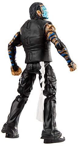 41rJGzzyt9L. AC  - WWE Jeff Hardy Elite Collection Action Figure, 6-in/15.24-cm Posable Collectible Gift for WWE Fans Ages 8 Years Old & Up
