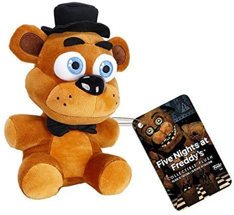 41rwp9yxj9L. AC  - Funko Five Nights at Freddy's Series 1 Plush Collection, 6-inch (Set of 5)