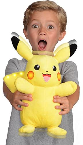41t5O0fiwfL. AC  - Pokemon Plush, Power Action Interactive Pikachu - Comes with Movement Sensors, Lights and Sounds