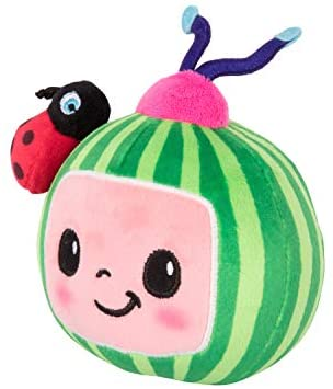 """41tdI14P3xL. AC  - CoComelon JJ and Melon Plush Stuffed Animal Toys, 2 Pack - 8"""" Plush - for Ages 18 Months and up"""