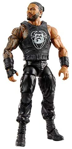 41vNvZqA0TL. AC  - WWE Roman Reigns Elite Collection Action Figure, 6-in/15.24-cm Posable Collectible Gift for WWE Fans Ages 8 Years Old & Up