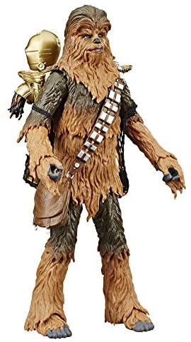 """41x5CEQOEoL. AC  - Star Wars The Black Series Chewbacca & C-3PO Toys 6"""" Scale The Empire Strikes Back Collectible Figures (Amazon Exclusive)"""